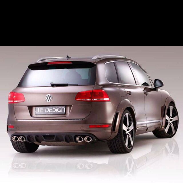 Touareg R-Line Widebody Kit by JE Design Out Now