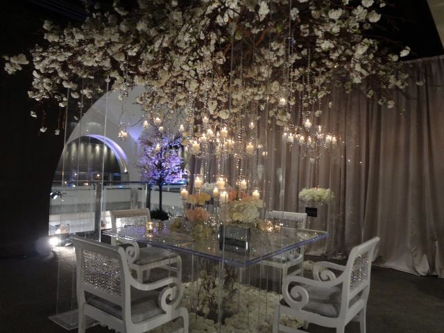 Wedding Decorations With Branches On Ceilings