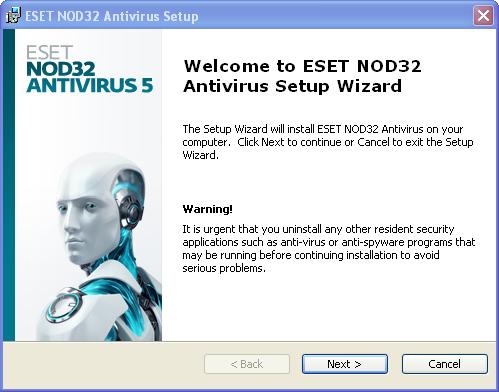 antivirus nod32 gratuit sur 01net