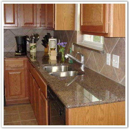 Merveilleux Stone Countertop Pictures | Tropic Brown Granite Countertops (2183), Tropic  Brown, Austin