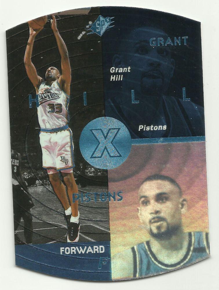 1997 Grant Hill Upper Deck SPX Basketball Card Detroit