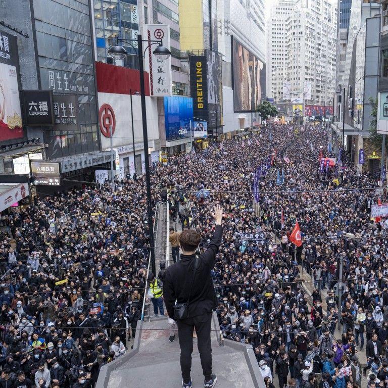 Hong Kong Protests 1 January 2020 Hong Kong History Pictures Kong