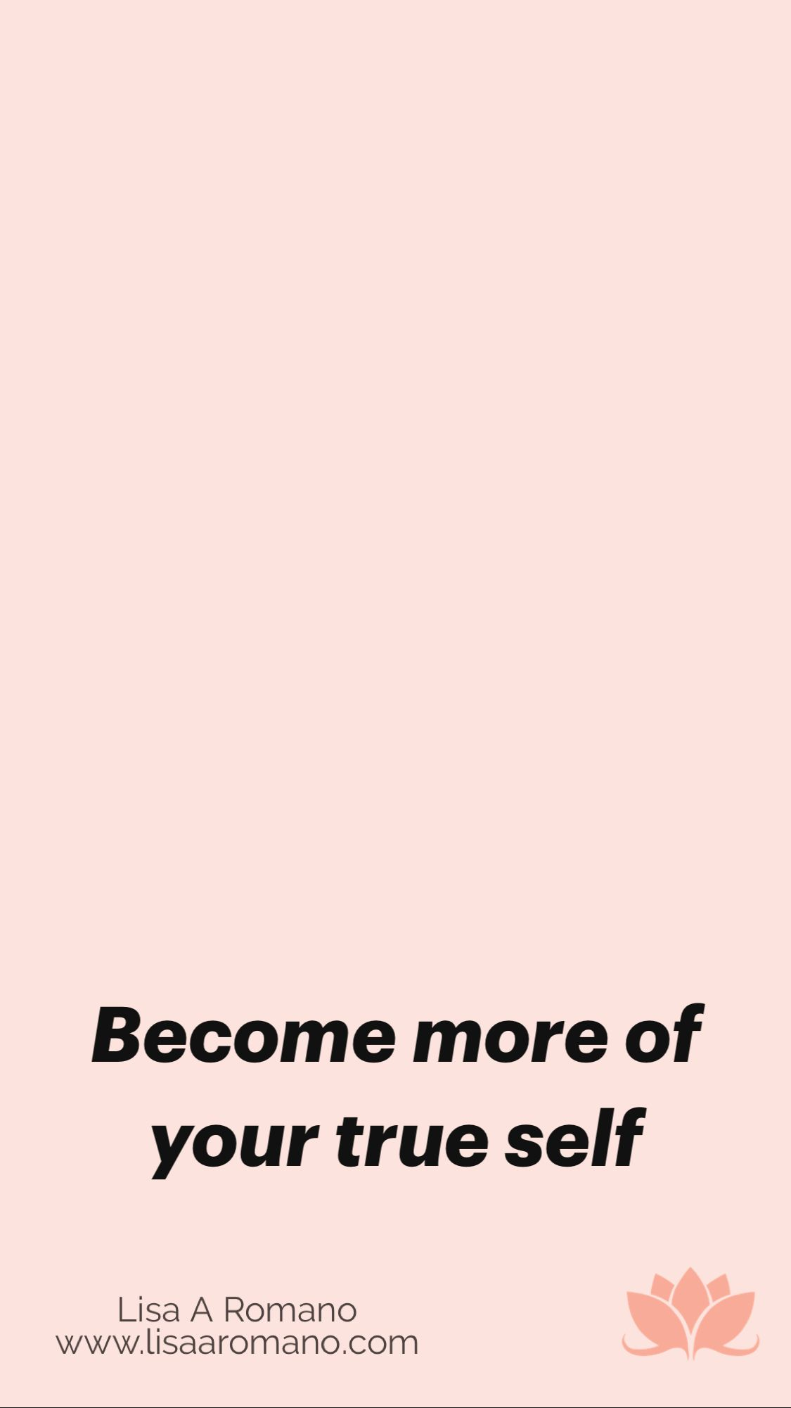 Become more of your true self