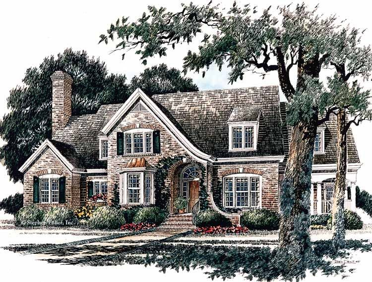 Love eplans french country house plan cozy kitchen plan for Large french country house plans