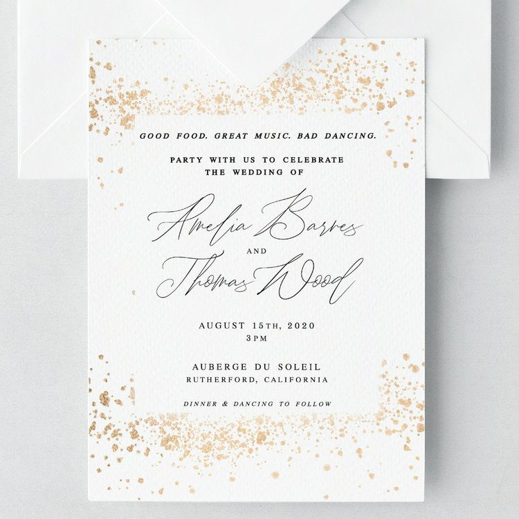 Good Food Great Music Bad Dancing Party With Us To Celebrate The Wedding Wedding Invitation Wording Wedding Invitation Wording Examples Wedding Invitations