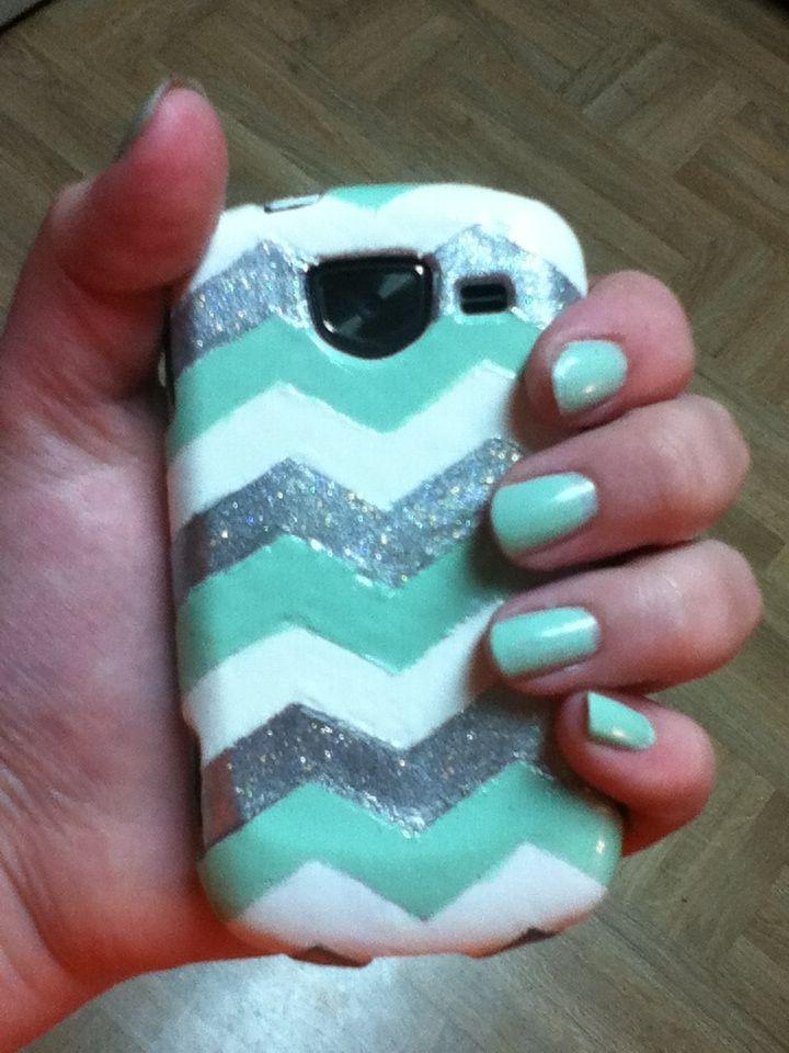 best service 9d961 56c3c DIY nail polish phone case....took a few days but I love it ...