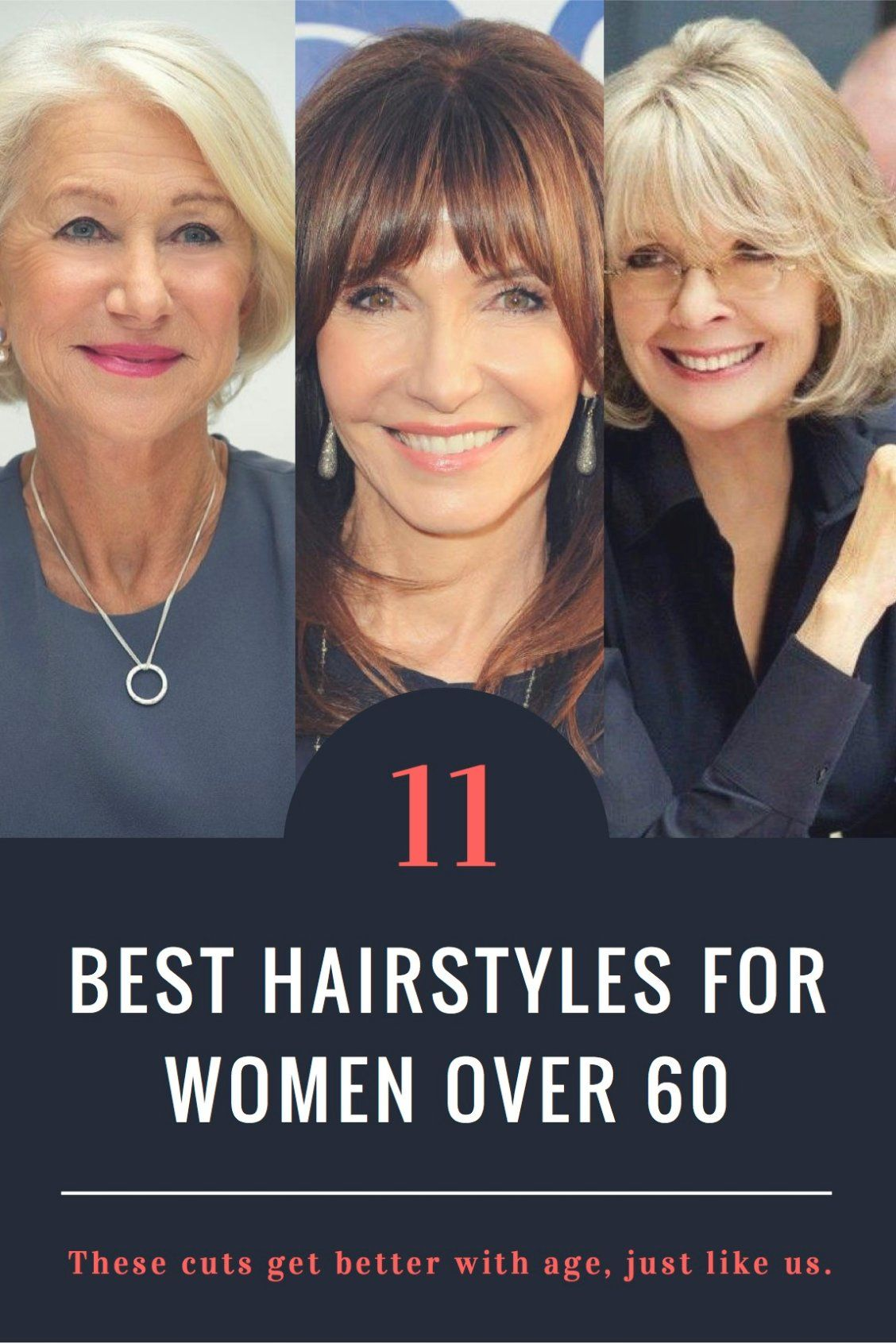The Best Hairstyles For Women Over 60 Older Women Hairstyles Over 60 Hairstyles Cool Hairstyles