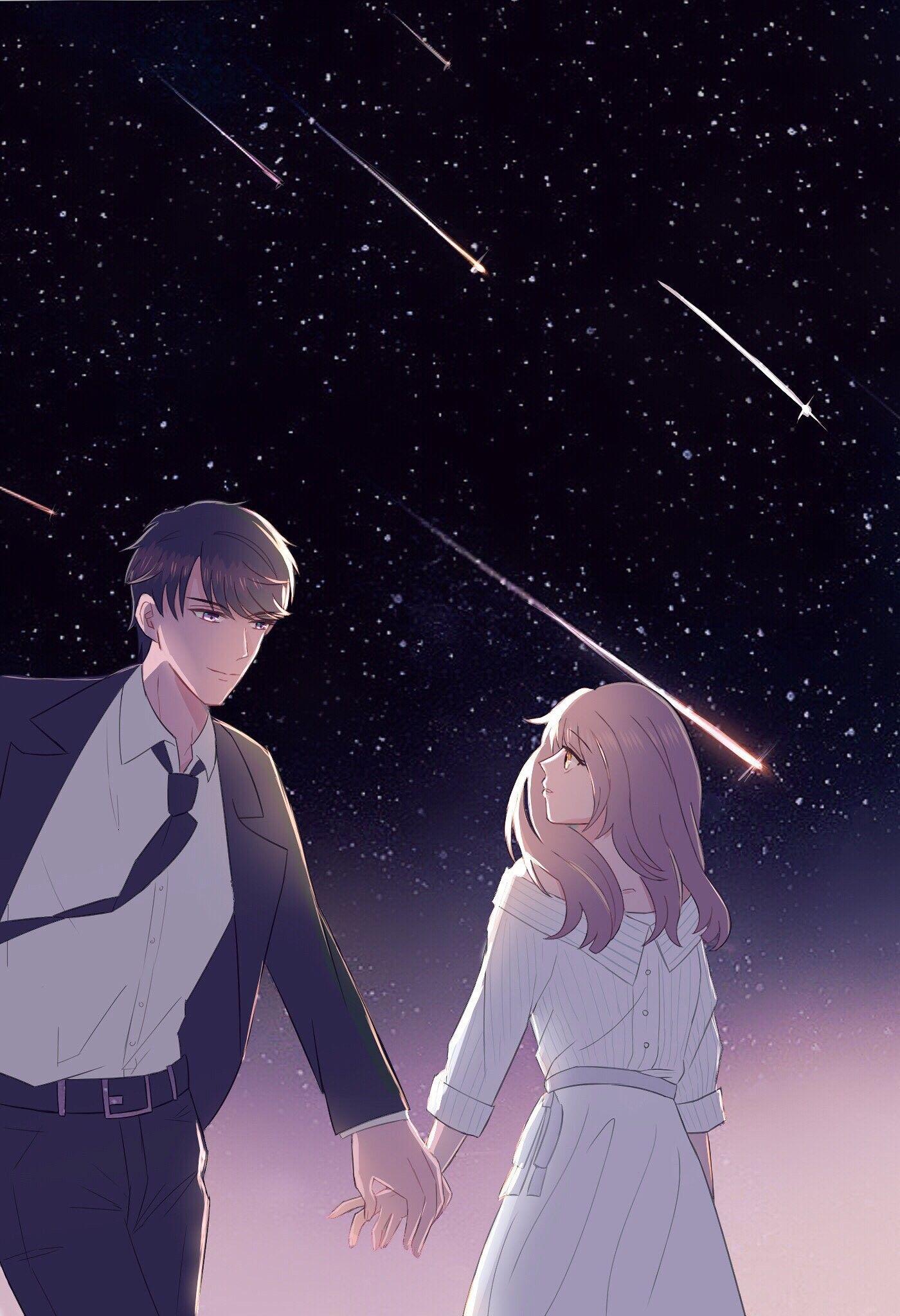 Art By Producer Sko Romantic Anime Anime Cupples Anime Love