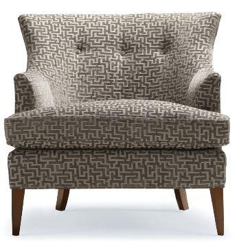 U003c3 Contemporary Wyatt Upholstered Chair   Mitchell Gold + Bob Williams