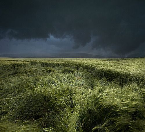Thunderstorm, Tuscany, Italy