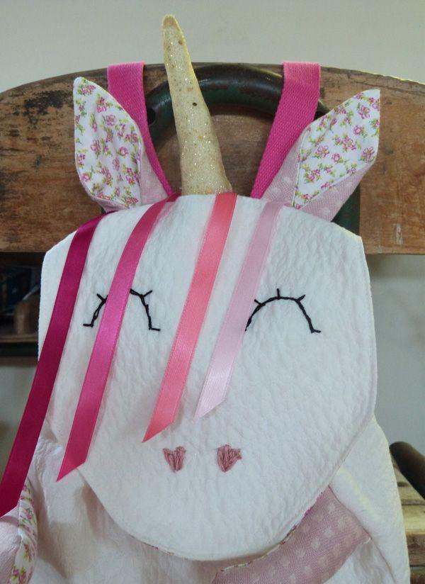 sac Grrr licorne | Couture | Sac licorne, Couture sac et Sac
