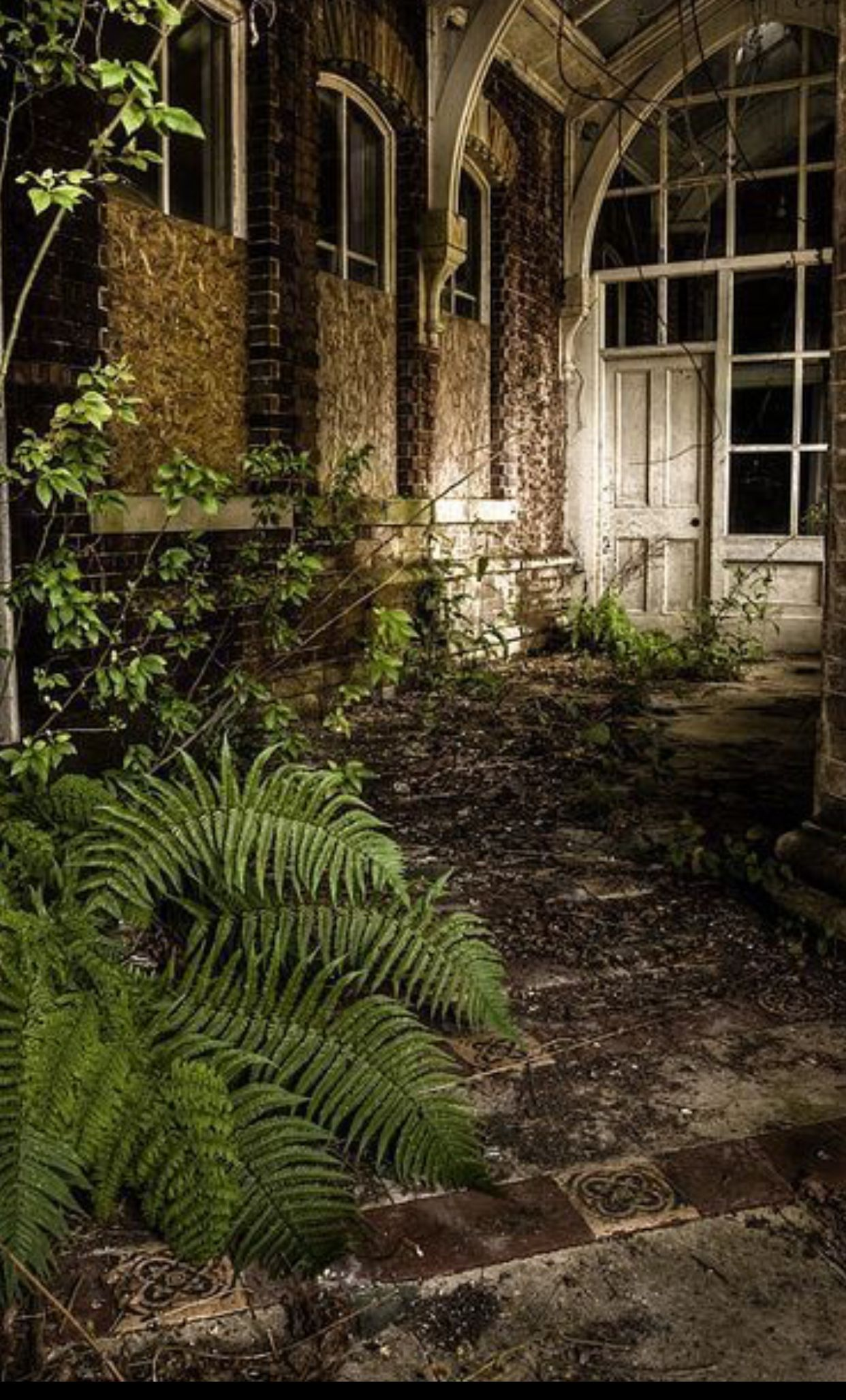 Idea by Shash on Secret Garden Abandoned places