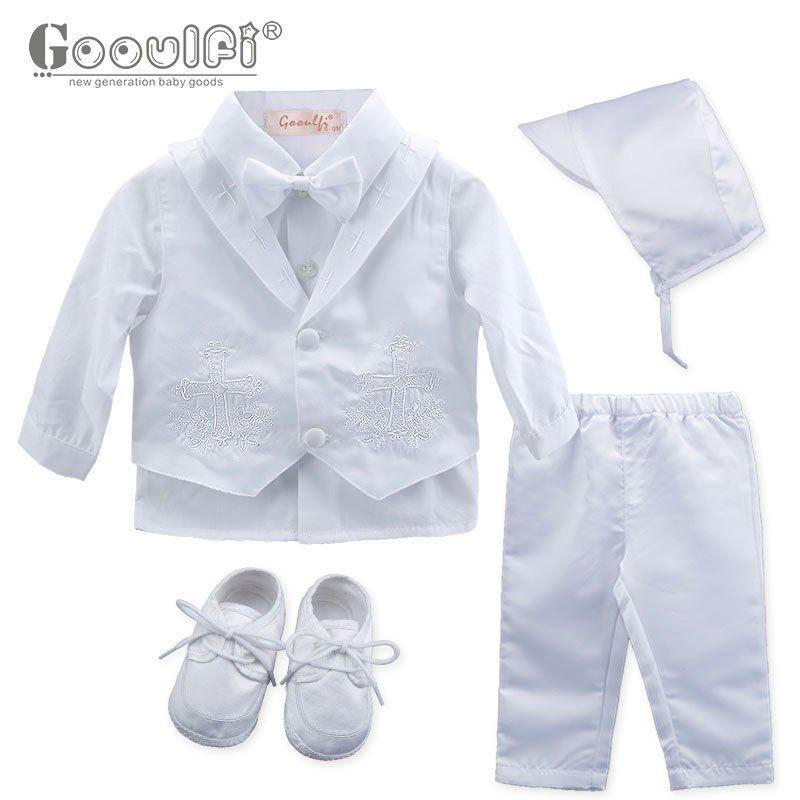 99976ed60358d Gooulfi Baby Boys Clothing Sets Baptism Baby Boy 6 Pcs Clothes ...