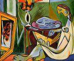 pablo picasso pinturas - la galeria musa esticada por Pablo Picasso