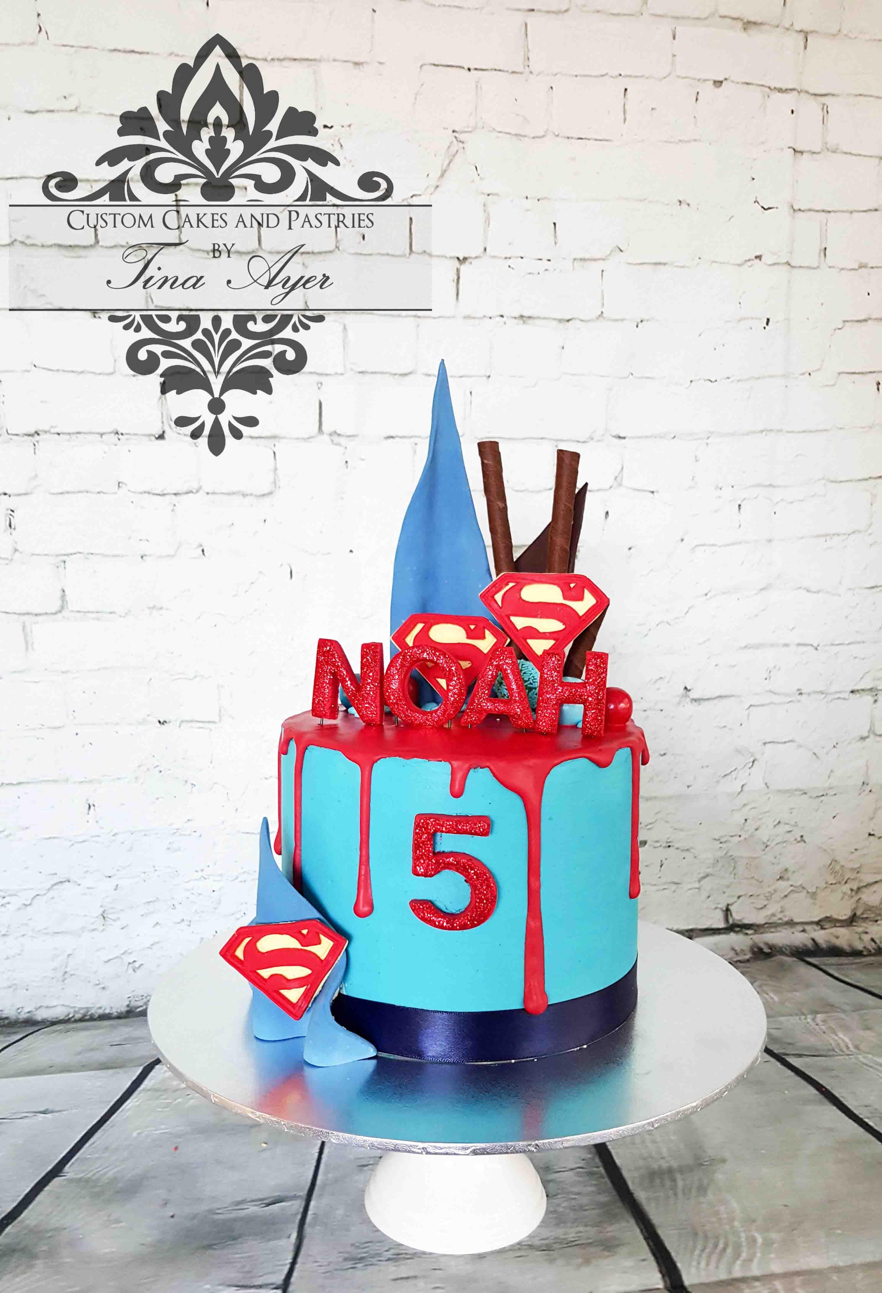 Drip Cake Superheros By Tina Ayer Melbourne Www