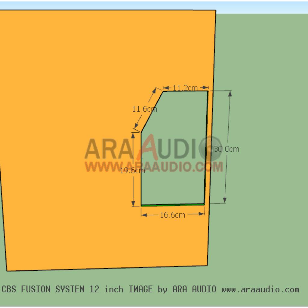 Skema Box Cbs Fusion 12 Inch Ara Audio Speaker Pengukur Desain