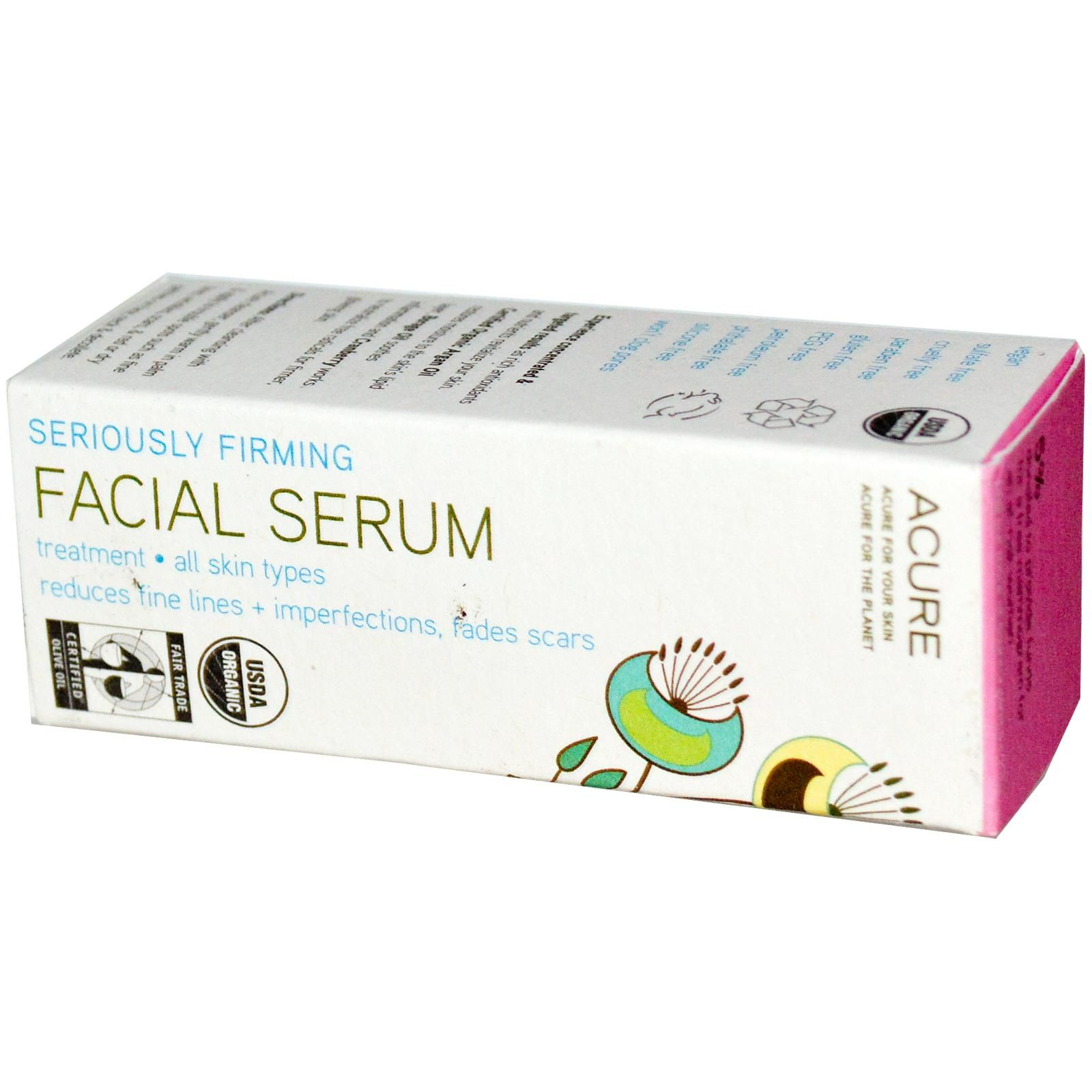 Seriously Firming Facial Serum Acure