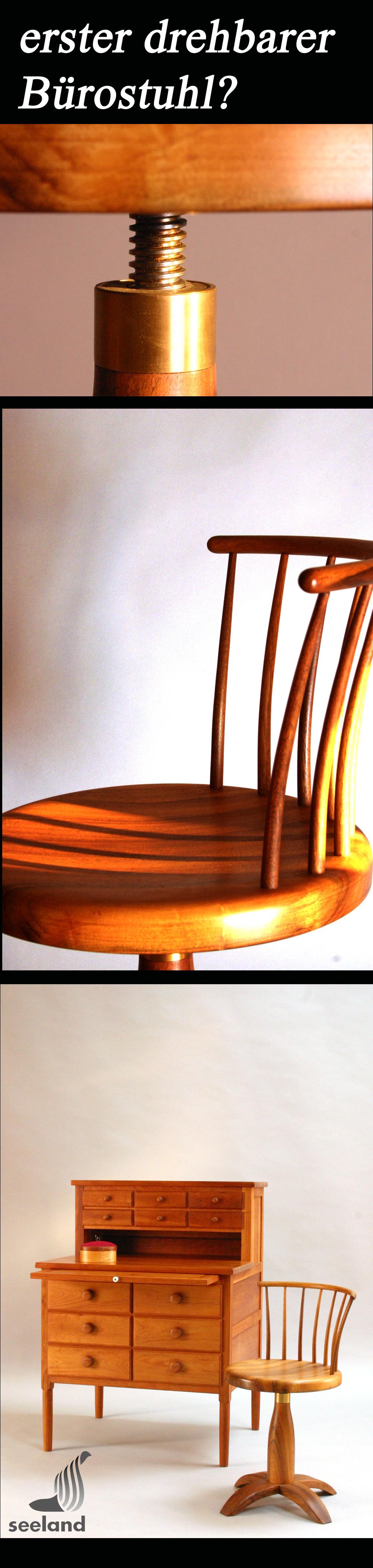 Shaker revolving chair / Nussbaum // Simonsen/ Seeland