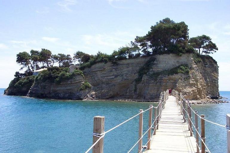 Island Agios Sostis, Zakynthos - Greece
