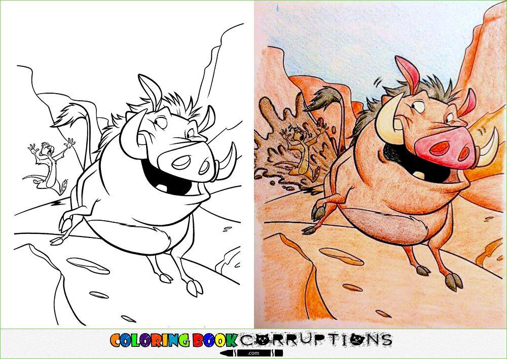 Splash Zone Coloring Book Corruptions Lion Coloring Pages Cartoon Coloring Pages Corrupt Coloring Book