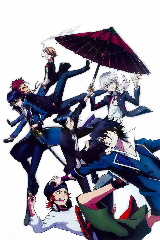 Photo of K Project Yashiro Kuroh Anime Poster