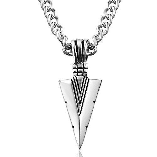 Besteel jewelry stainless steel arrowhead pendant necklac http besteel jewelry stainless steel arrowhead pendant necklac http aloadofball Images