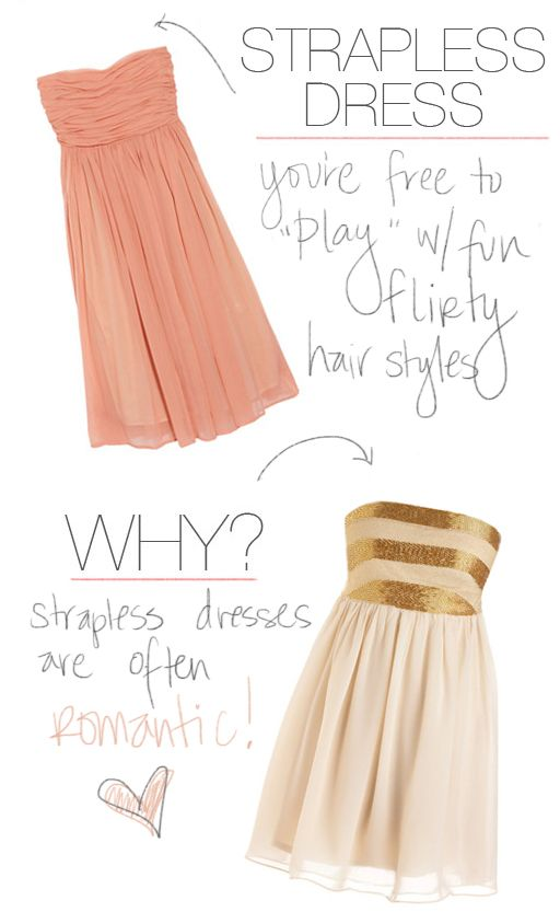 Fashion Friday Style Fashion Style Strapless Dress