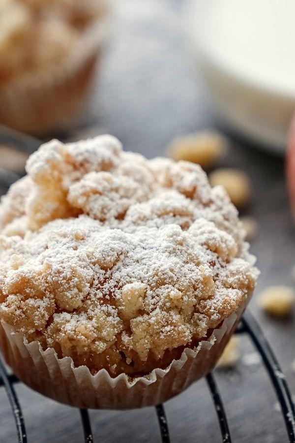Rezept: die leckersten Apfel-Streusel-Muffins der Welt!