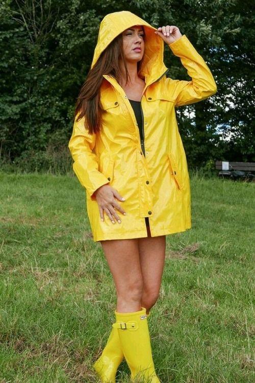 ciré et bottes de pluie femme