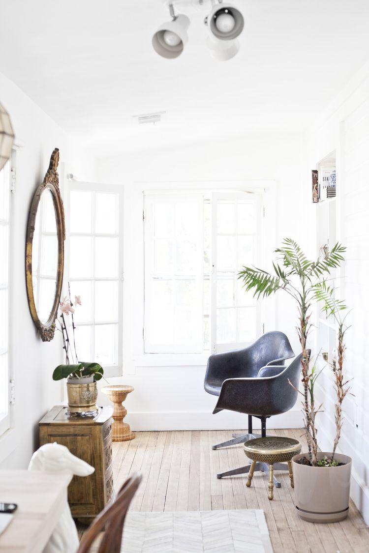 House Renovation Home Office Reveal Heirloom Modern Minimalist