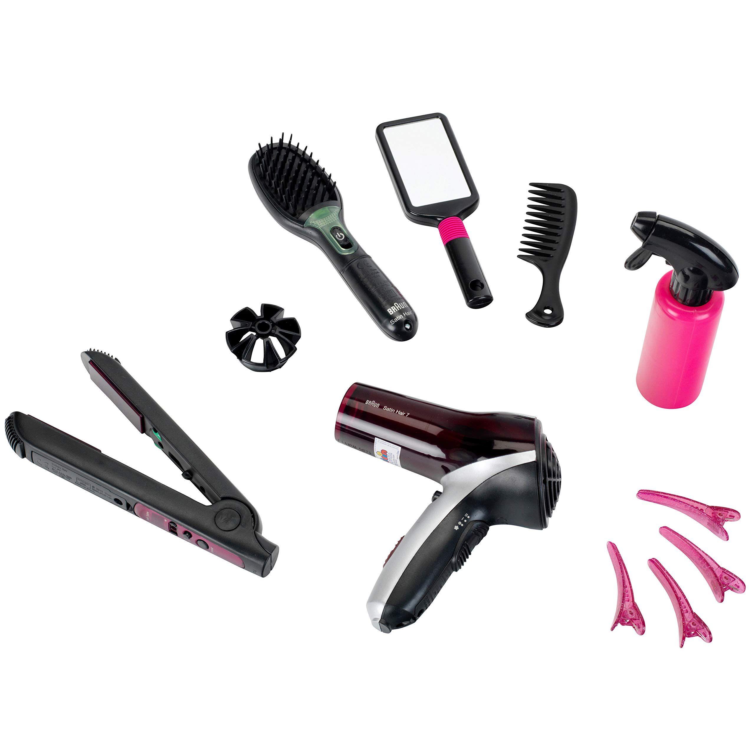 Klein 5873 Coiffure Mega Set De Coiffure Braun Satin Hair 7 Amazon Fr Jeux Et Jouets Coiffure Tete A Coiffer Jouet