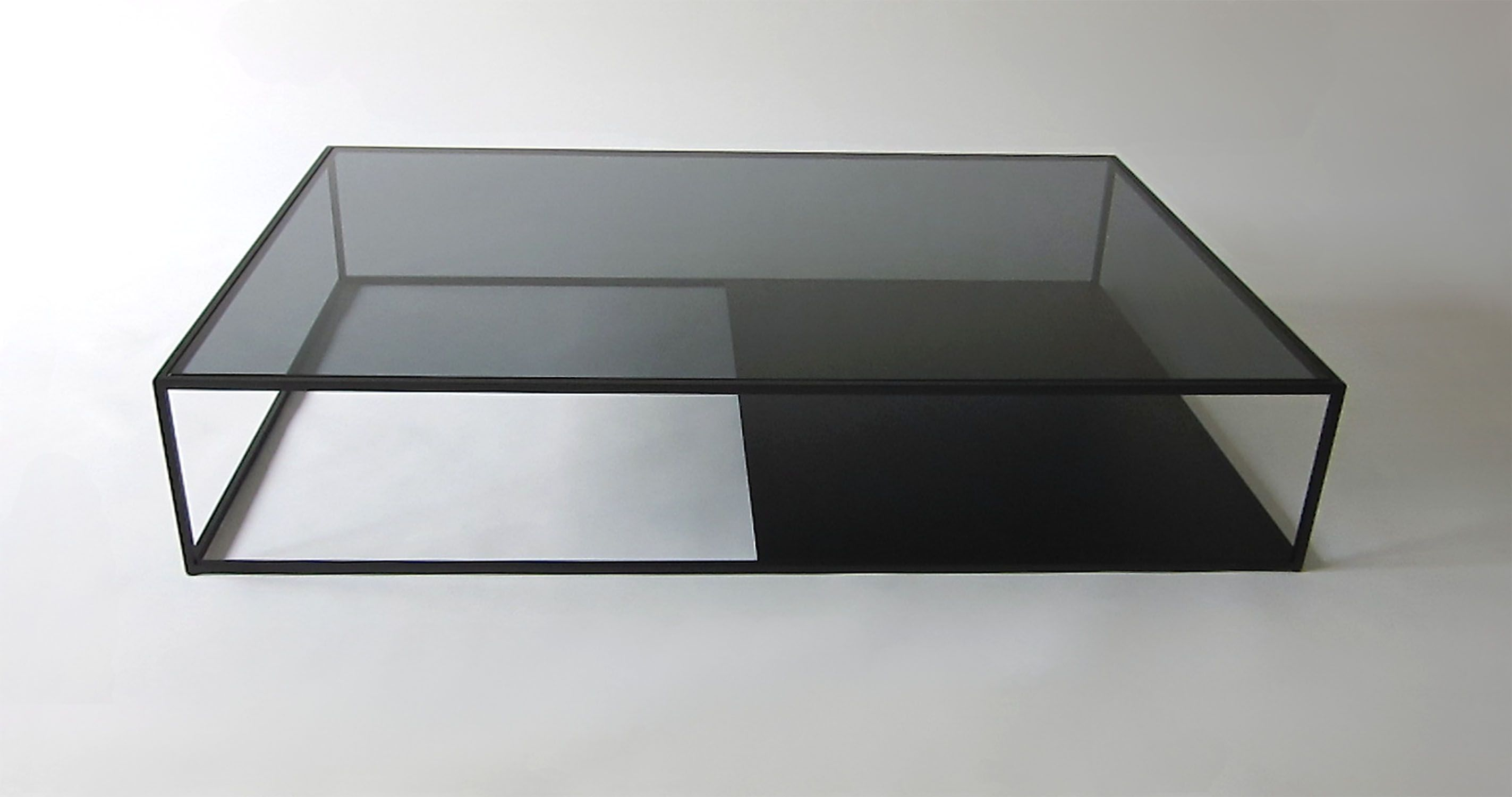 Half Half Coffee Table By Reza Feiz For Phase Design Coffee Table Design Coffee Table Modern Glass Coffee Table [ 1500 x 2846 Pixel ]