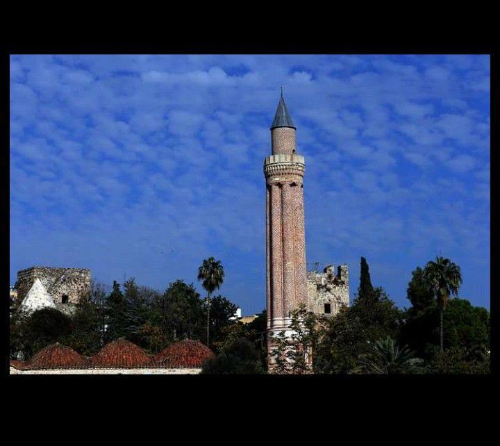 Yivli minare-Anatolian Seljuk-1.Alaeddin Keykubad Period 1220-1237-Antalya-Turkiye