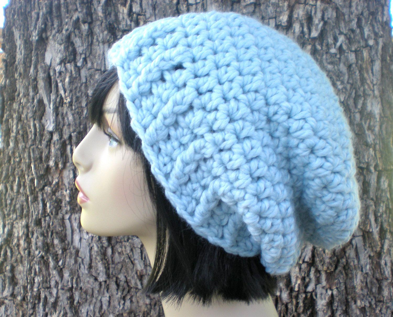 Pattern Kelsey Slouch Easy Crochet Pdf Adult Teen Seamless Slouchy