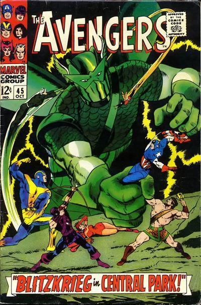 Avengers #45. The Super-Adaptoid. #Avengers