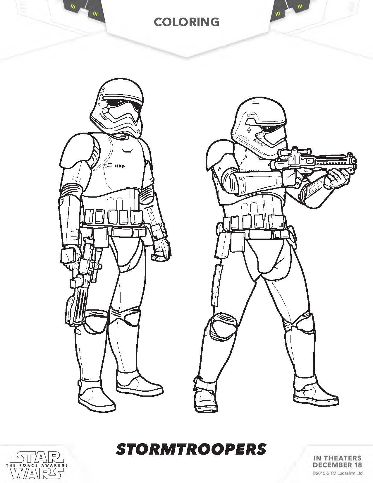 coloring pages of star wars star wars rey coloring pages star wars ...
