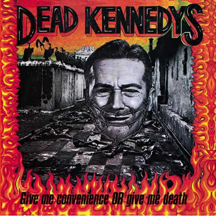 Dead Kennedy's - Give Me Convenience or Give Me Death. No one ever understood my Dead Kennedy's bumper sticker.