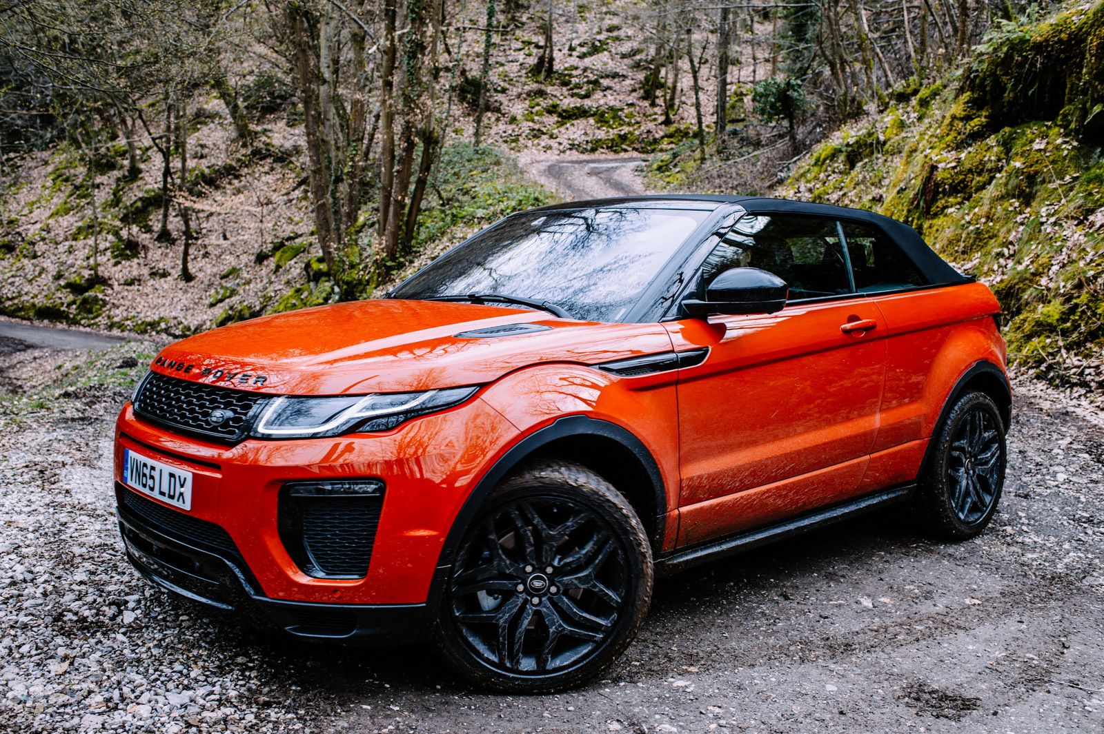 Test Drive The 2017 Range Rover Evoque Convertible