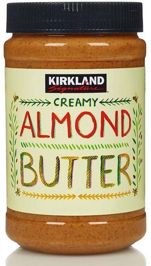 Kirkland Signature Creamy Almond Butter 765g Gluten Free