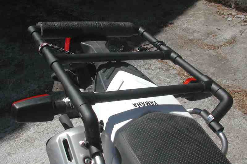 Diy Pvc Motorcycle Rack Scooter And Motorcycles