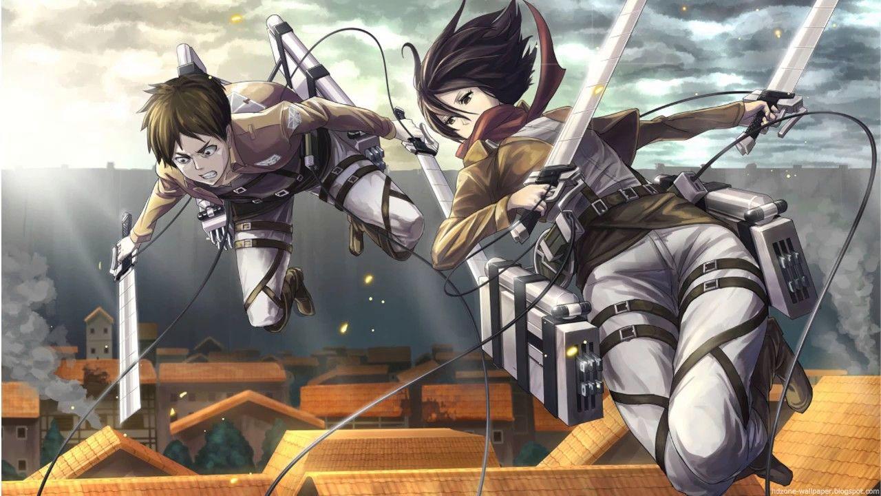 Shingeki No Kyojin Nichijou Everyday Life Hd Attack On Titan Attack On Titan Anime Attack On Titan Eren And Mikasa