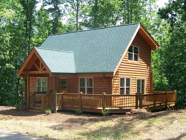 Sasha And Waylon S Two Story Log Cabin Cabin House Styles Cozy Cabin