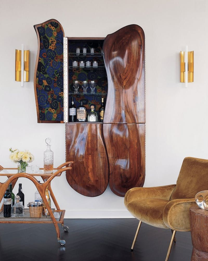 Unique Home Bar Design