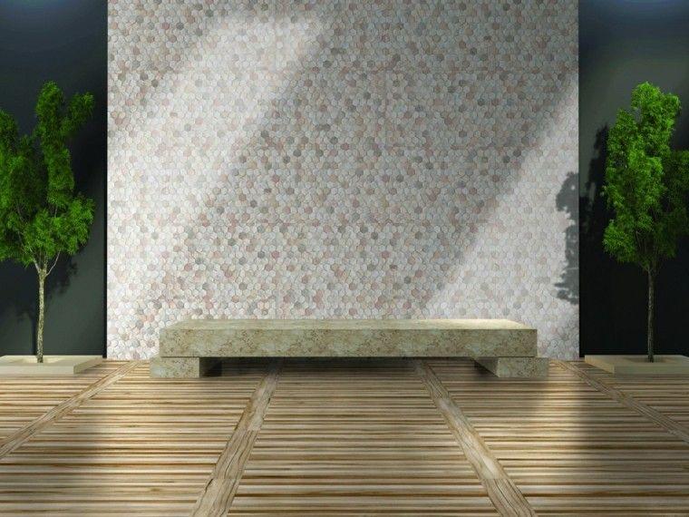 Revestimiento de paredes exteriores 50 ideas for Recubrimiento para azulejos