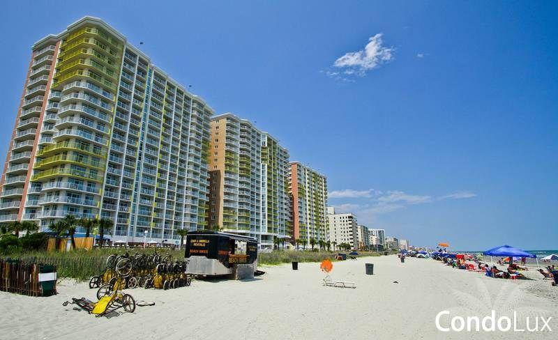 Bay watch oceanfront resort myrtle beach condos north