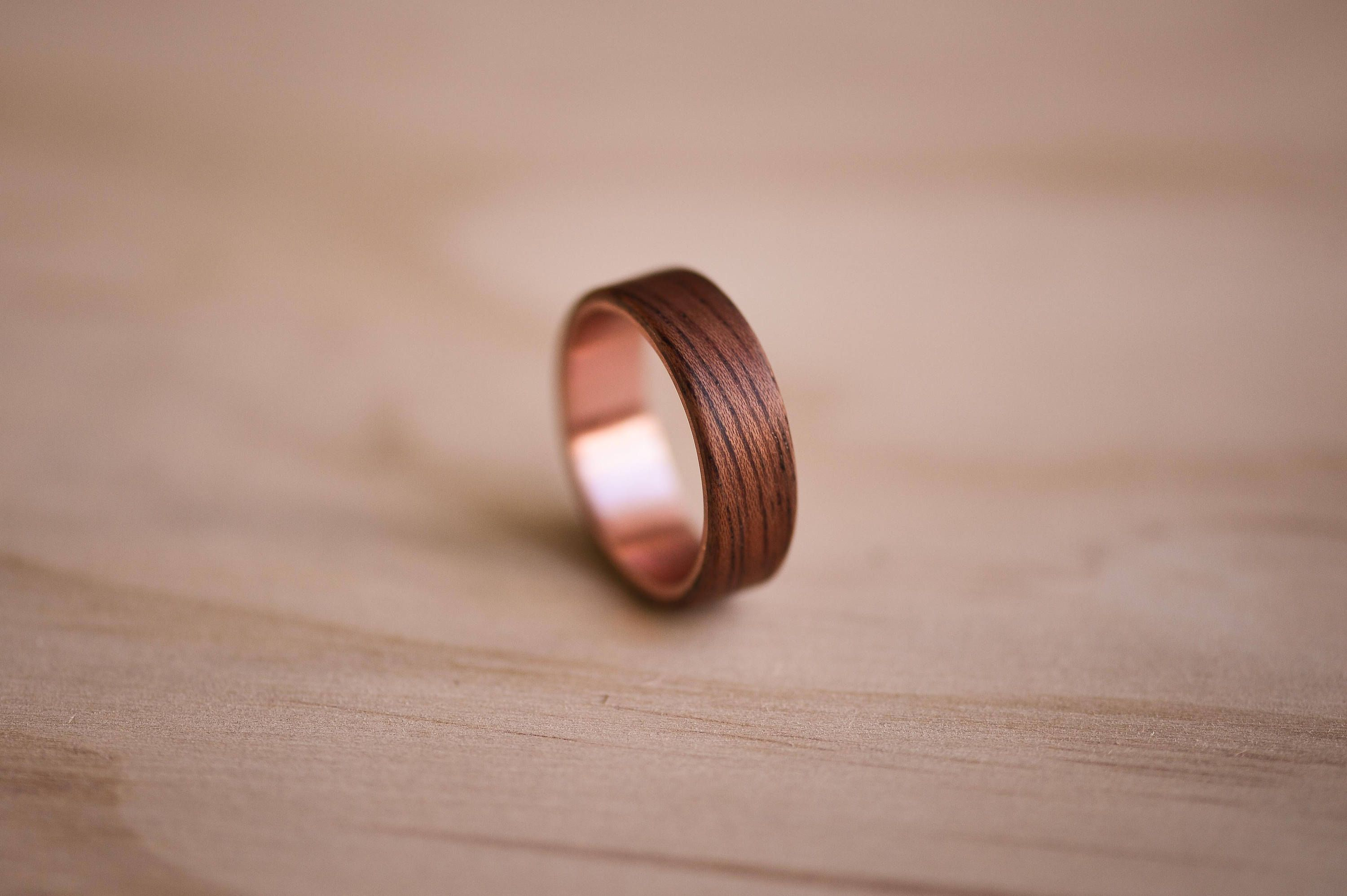 Claro Walnut Bentwood Ring