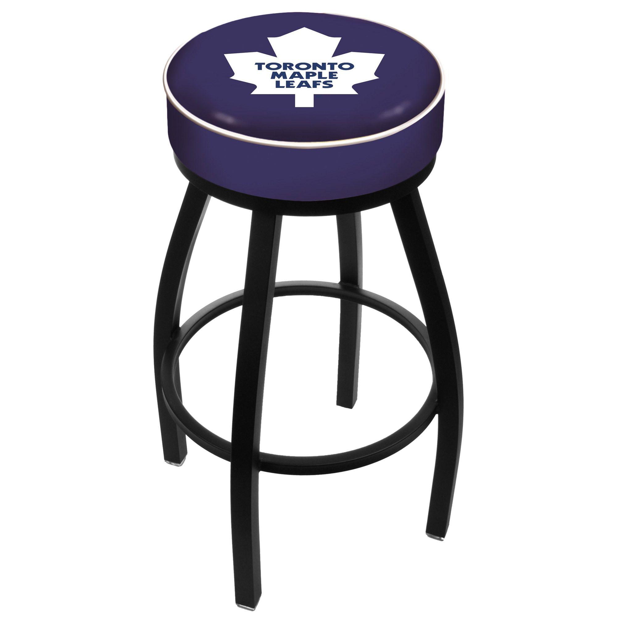 NHL Toronto Maple Leafs Padded Swivel Bar Stool