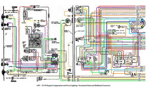 Color Wiring Diagram Finished - The 1947