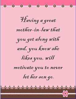 My Mother In Law Great Days Great Days Mother In Law Quotes
