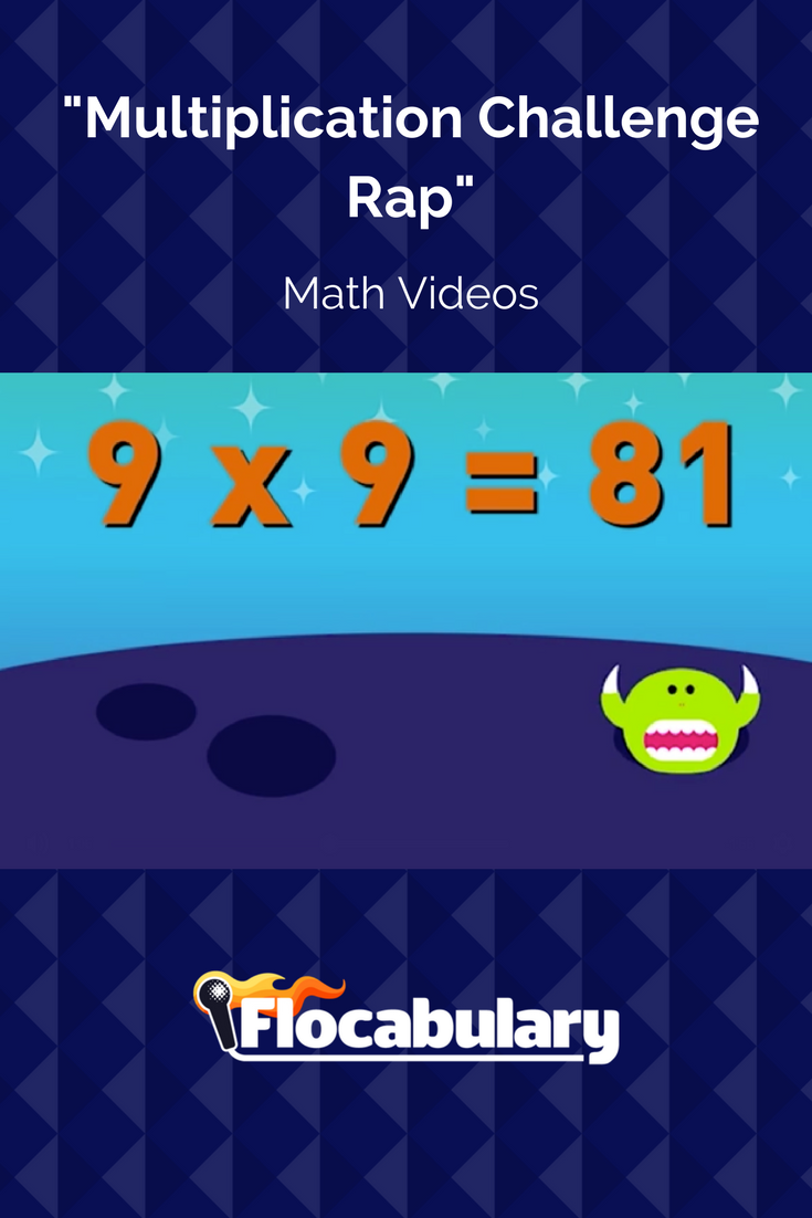 Review multiplication facts with this fast-paced challenge rap. Can ...